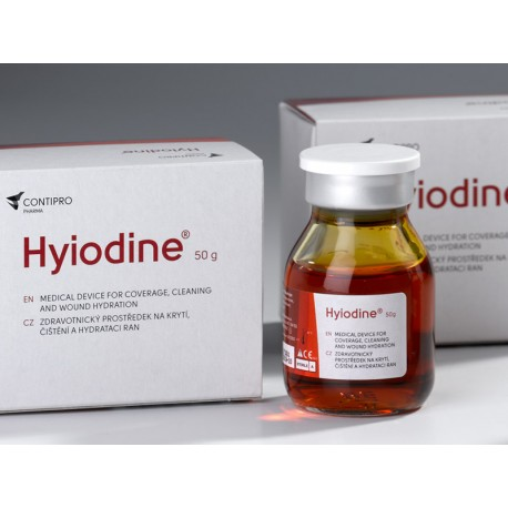 Hyiodine 50g solutie tratarea escarei